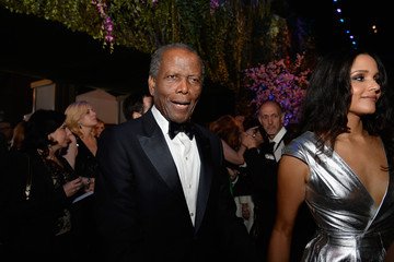 Sydney Poitier Stars at the Governors Ball