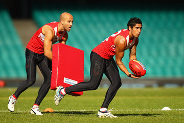 Byron Sumner Sydney Swans Training Session