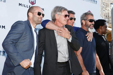 """Sylvester Stallone Jason Statham """"The Expendables 3"""" Photocall - The 67th Annual Cannes Film Festival"""