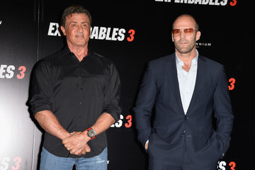 Sylvester Stallone Jason Statham 'The Expendables 3' Photo Call in Paris — Part 2