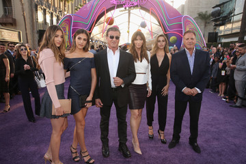 Sylvester Stallone Sistine Rose Stallone The World Premiere of Marvel Studios' 'Guardians of the Galaxy Vol. 2'