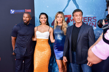 Sylvester Stallone Sistine Rose Stallone L.A. Premiere Of Entertainment Studios' '47 Meters Down Uncaged' - Arrivals