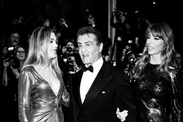 Sylvester Stallone Sistine Rose Stallone Alternative View - The 72nd Annual Cannes Film Festival