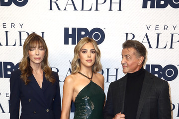 Sylvester Stallone Sistine Stallone Premiere Of HBO Documentary Film 'Very Ralph' - Arrivals
