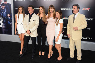 Sylvester Stallone Sophia Rose Stallone 'The Expendables 3' Premieres in Hollywood
