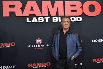 Sylvester Stallone 'Rambo: Last Blood' Screening And Fan Event