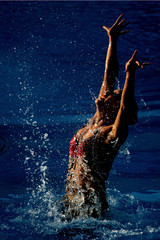 Hyunsun Park Synchronised Swimming Day Five - 13th FINA World Championships