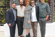 (L-R) AT&T AUIDENCE Network Original Programing Head Shane Elrod, Brett Gelman, Breeda Wool, Jack Bender and Gabriel Ebert attend AT&T AUIDENCE Network Presents 'Mr. Mercedes' At The Television Critics Association In Beverly Hills at The Beverly Hilton on July 23, 2019 in Los Angeles, California.
