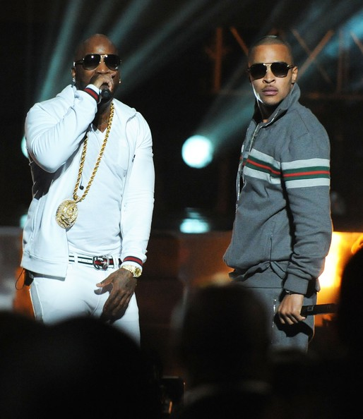 T.I. Young Jeezy and T.I. perform at the BET Hip Hop Awards 2011 at Boisfeuillet Jones Atlanta Civic Center on October 1, 2011 in Atlanta, Georgia.