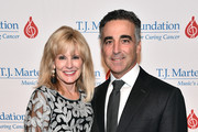 CEO, The T.J. Martell Foundation, Laura Heatherly and Avery Lipman attend The T.J. Martell Foundation 43rd New York Honors Gala at Cipriani 42nd Street on October 15, 2018 in New York City.