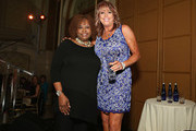 Host Robin Quivers poses for a photo with NBA Assistant Coach for the Sacramento Kings / honoree Nancy Lieberman during the T.J. Martell Foundation 4th Annual Women Of Influence Awards on May 13, 2016 in New York, New York.