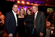 Charles Esten, Patty Hanson, Crissy Haslam and Tennessee Governor Bill Haslam attend the T.J. Martell Foundation's 7th Annual Nashville Honors Gala at Omni Hotel Downtown on March 30, 2015 in Nashville, Tennessee.