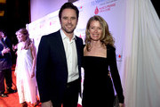 Charles Esten and Patty Hanson attend the T.J. Martell Foundation's 7th Annual Nashville Honors Gala at Omni Hotel Downtown on March 30, 2015 in Nashville, Tennessee.