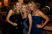 (L-R) Ashley Campbell, Kim Campbell, and Laura Covington attend the 16th Annual Nashville Best Cellars Dinner hosted by the T.J. Martell Foundation at City Winery Nashville on April 27, 2015 in Nashville, Tennessee.