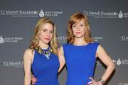 Actresses Kerry Butler (L) and Megan Sikora attend the T.J. Martell Foundation's Women of Influence Awards on May 1, 2014 in New York City.