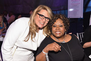 Radio personalities Delilah (L) and Robin Quivers attend the T.J. Martell Foundation's Women of Influence Awards on May 1, 2015 in New York City.