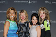 (L-R) Honoree Hoda Kotb, Marcie Allen, Melissa Lonner, and CEO of the T.J. Martell Foundation Laura Heatherly attend the T.J. Martell Foundation's Women of Influence Awards on May 1, 2014 in New York City.