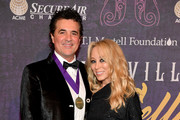 CEO of Big Machine Label Scott Borchetta and Sandi Spika Borchetta attend Best Cellars Wine Dinner hosted by T.J. Martell Foundation on April 24, 2017 in Nashville, Tennessee.