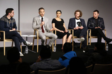T.J. Miller Apple Store Soho Presents Meet the Actor: Ryan Reynolds, Morena Baccarin, TJ Miller, and Ed Skrein, 'Deadpool'