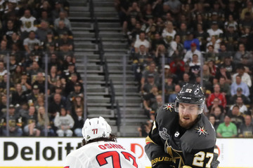 T.J. Oshie Shea Theodore 2018 NHL Stanley Cup Final - Game Five