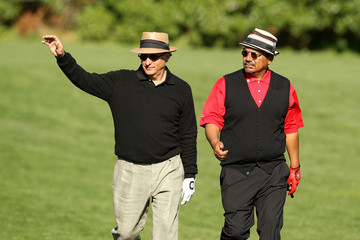 George Lopez Andy Garcia AT&T Pebble Beach National Pro-Am - Round Three
