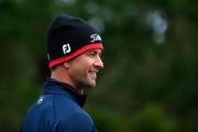 Adam Scott of Australia looks on during the second round of the AT&T Pebble Beach Pro-Am at Spyglass Hill Golf Course on February 08, 2019 in Pebble Beach, California.