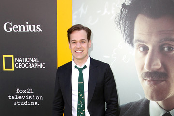 T.R. Knight National Geographic's Premiere Screening of 'Genius' in Los Angeles