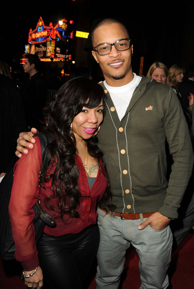 "T.I. and Tameka Cottle - Premiere Of Warner Bros. Pictures' ""Gangster Squad"" - Red Carpet"
