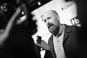 """Image has been shot in black and white..Color version not available.)  Greg Garcia attends TBS """"The Guest Book"""" Season 2 premiere at EPLP Restaurant on October 16, 2018 in West Hollywood, California."""