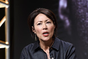 """(L-R) Ann Curry speaks onstage at the """"Chasing The Cure"""" panel during the TBS + TNT Summer TCA 2019 at The Beverly Hilton Hotel on July 24, 2019 in Beverly Hills, California. 637825"""