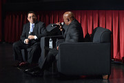 Film historian/author Donald Bogle (L) and director/producer John Singleton speak onstage at the 'Boyz n the Hood' screening during day 2 of the TCM Classic Film Festival 2016 on April 29, 2016 in Los Angeles, California. 25826_008
