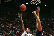 D.J. Gay #23 of San Diego State shoots the ball in the first half against TCU at Cox Arena in San Diego Saturday, February 5, 2011. SDSU beat TCU 60-53.