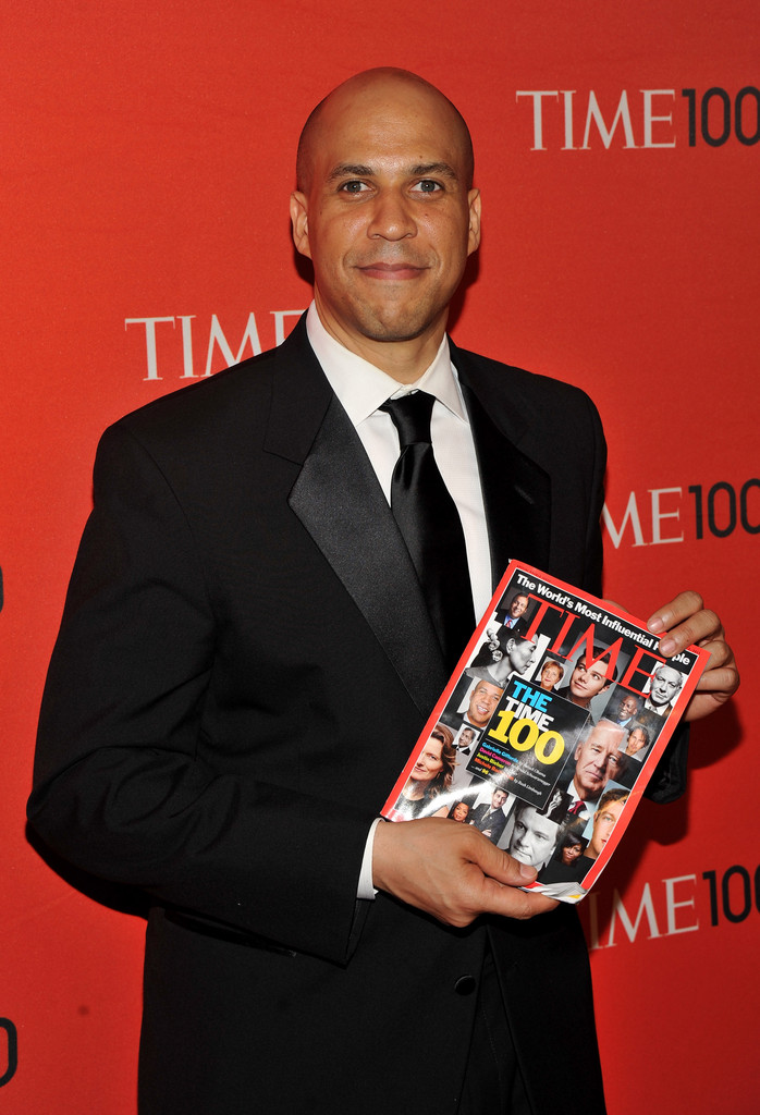 Cory Booker In TIME 100 Gala TIMES 100 Most Influential