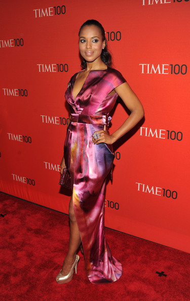 Actress Kerry Washington attends the TIME 100 Gala, TIME'S 100 Most Influential People In The World at Frederick P. Rose Hall, Jazz at Lincoln Center on April 26, 2011 in New York City.