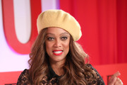 NEW YORK, NEW YORK - APRIL 23 Tyra Banks participates in a panel discussion during the TIME 100 Summit 2019 on April 23, 2019 in New York City.