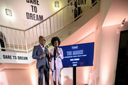 Executive Producers of The March Julius Tennon (L) and Viola Davis (R) attend the TIME Launch Event for The March VR Exhibit at the DuSable Museum on February 26, 2020 in Chicago, Illinois.