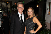 (L-R) Kevin Reilly and Goloka Bolte attend the TNT And TBS Emmy After-Party  at Dama on September 17, 2018 in Los Angeles, California.