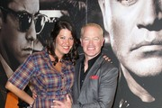 """Ruve McDonough and actor Neal McDonough attend TNT's """"Mob City"""" Screening at TCL Chinese Theatre on November 21, 2013 in Hollywood, California."""