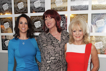 Andrea McLean Sherrie Hewson The TRIC Awards 2012 - Inside Arrivals