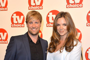 Kian Egan and Jodi Albert attend the TV Choice Awards 2014 at London Hilton on September 8, 2014 in London, England.