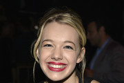 Actors Sadie Calvano and Blake Garrett Rosenthal attend the TV Guide Magazine's Hot List Party at Emerson Theatre on November 4, 2013 in Hollywood, California.