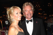 **UK TABLOID NEWSPAPERS OUT** Noel Edmonds (R) and wife Liz Davies attend the TV Quick & TV Choice Awards champagne reception held at The Dorchester on September 7, 2009 in London, England.