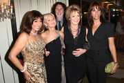 **UK TABLOID NEWSPAPERS OUT** L-R Jane McDonald, Lisa Maxwell, David Threlfall, Sherrie Hewson and Andrea Mclean of 'Loose Women' attend the TV Quick & TV Choice Awards Champagne reception held at The Dorchester on September 7, 2009 in London, England.