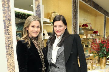 Tabitha Simmons Aerin Lauder Home For The Holidays Pop-Up Launch At Saks