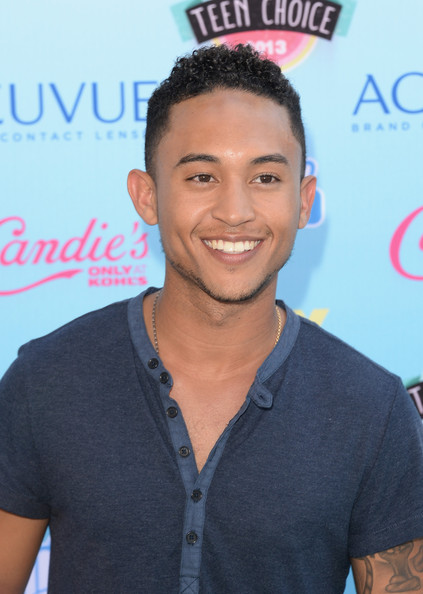 Tahj Mowry Actor Tahj Mowry attends the Teen Choice Awards 2013 at Gibson Amphitheatre on August 11, 2013 in Universal City, California.