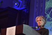 Animal rights activist and actress Tippi Hedren speaks onstage at The Tailwaggers Foundation, 2017 Waggy Awards at Taglyan Cultural Complex on March 19, 2017 in Hollywood, California.