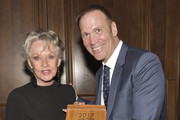 Tailwaggers Founder and President Todd Warner (L) and animal rights activist Tippi Hedren pose for portrait at The Tailwaggers Foundation, 2017 Waggy Awards at Taglyan Cultural Complex on March 19, 2017 in Hollywood, California.