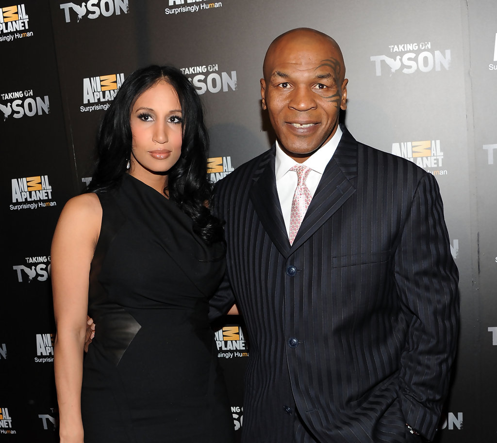 Mike Tyson with beautiful, Wife Lakiha Spicer
