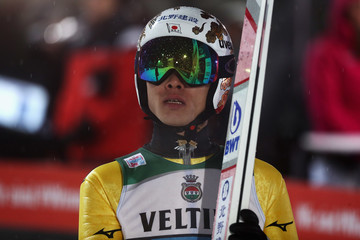 Taku Takeuchi FIS Nordic World Cup - Four Hills Tournament