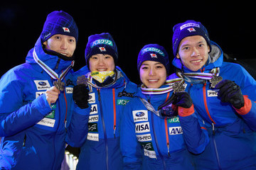 Taku Takeuchi Mixed Team Ski Jumping HS100 - FIS Nordic World Ski Championships